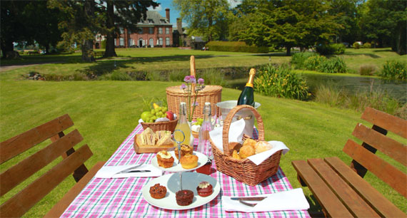 Picnic at Llansantffraed Court Hotel & Restaurant