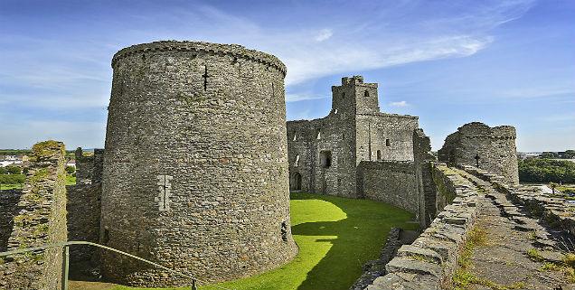 Kidwelly Castle Wales In Style